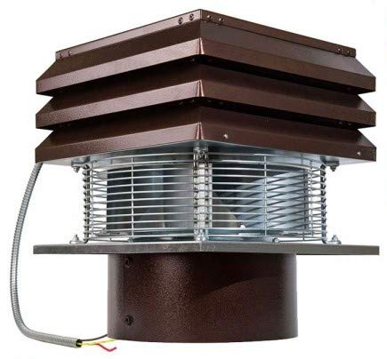 Why Should You Buy Fireplace Fan For Round Flue, Chimney Extractor, Chimney Aspirator, Chimney Draft...