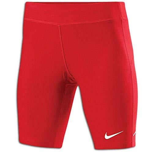 NIKE W'S Filament Pantalón Corto de Compresión, Mujer, Rojo/Blanco, XS