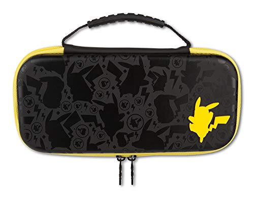PowerA Boîtier de Protection/Pochette de Transport - Pokémon Pikachu Silhouette pour Nintendo Switch