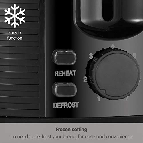 Morphy Richards 228398 Arc 2 Slice Toaster, Black