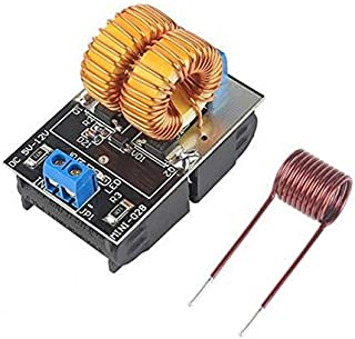 AVT 5-12V 120W Mini ZVS Induction Heating Board Flyback Driver Heater DIY Cooker+ Ignition Coil