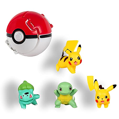 HONGECB Pokémon Ball, Pokeball, Poké Ball Mini Figurines,...