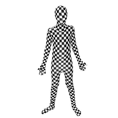 Morphsuits - Disfraz de segunda piel (pegado al cuerpo) infantil, talla 10-12 años (KPBCL)
