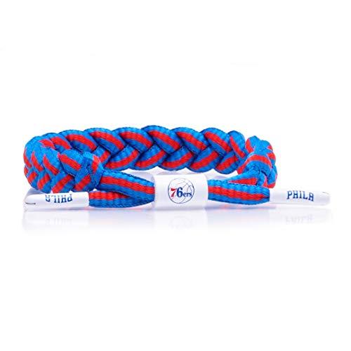 Rastaclat NBA Philadelphia 76ers Medium/Large Braided Bracelet