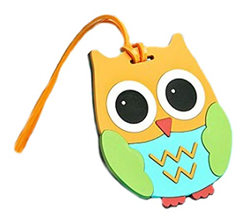Cute and Practical Owl Design Luggage Tag