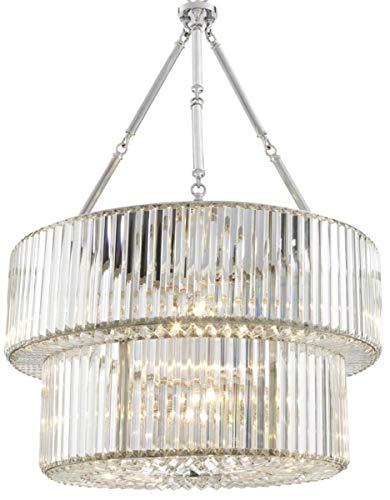 Casa Padrino Luxus Kronleuchter Silber