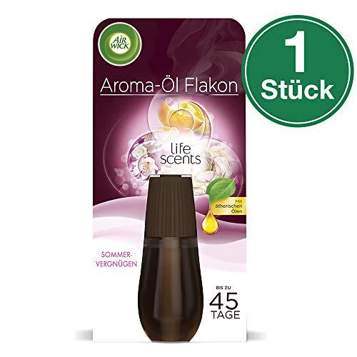 Air Wick Aroma-Öl Flakon – Duftöl Nachfüller für den Air Wick Diffuser – Duft: Sommervergnügen – 1 x 20 ml ätherisches Öl