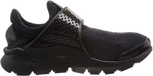 Nike Mens Sock Dart Black/Black-Volt 819686 001 - Size 10
