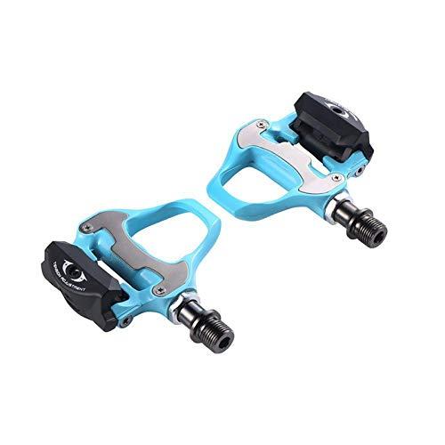 WANGDANA Pedal de Bicicleta SPD-SL con Clavo Antideslizante Sh11 para el Accesorio del Pedal de Bicicleta Shimano R550 Bianchi Green