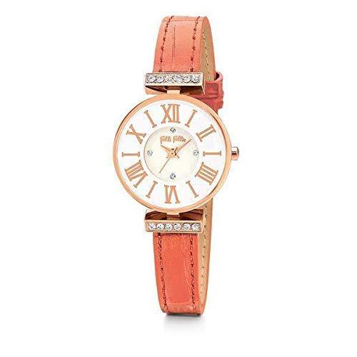 Folli WF13B014SSW - Reloj de pulsera para mujer (25 mm de diámetro)