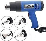 Heat Gun Hot Air Wind Blower Dual Temperature + 4 Nozzles Power Heater 1500W USA