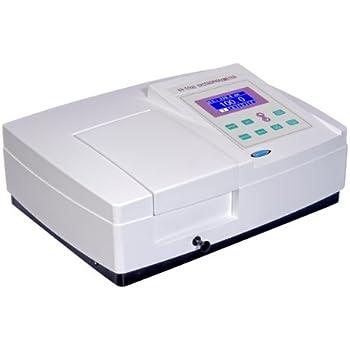 UV-5100B UV/VIS Spectrophotometer Ultraviolet Visible Spectrophotometer 190-1000nm Wavelength Range 2nm Bandwidth