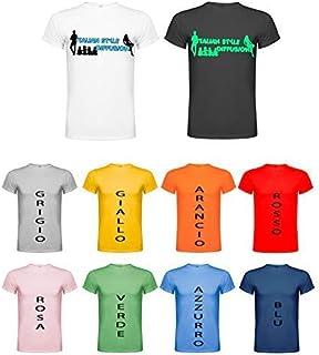 Senza marca/Generico T-Shirt Personalizzata Italian Style Diffusion Maglia Felpa Giacca Personalizzato Foto Uomo Donna Uni...