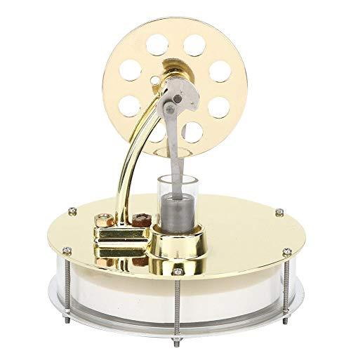 Oumefar Modelo de Motor de Vapor Educativo Modelo de Motor Stirling de Aire Caliente Escuela para Equipo de enseñanza de Juguetes experimentales Clase de física