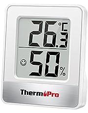 ThermoPro TP49 digital rumstermometer inomhus hygrometer mini temperaturmonitor fuktighetsmätare för hemmakontor luftkomfort termo hygrometer