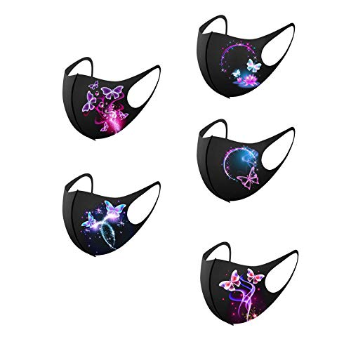Fashion Diamond Printing Face_Mask for Women Washable Anti-Haze Bandanas for Coronàvịrụs Protectịon_Cover Breathable