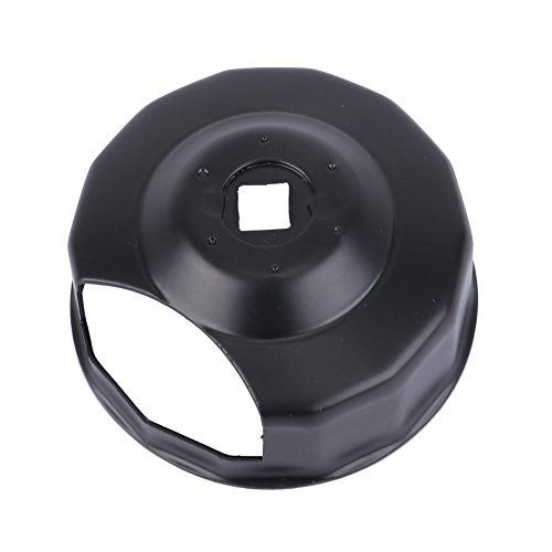 KIWI MASTER Oil Filter Cap Wrench Tool for 1984-2021 Harley Spin-on Oil Filters (Except '15-later XG) Twin Cam Oil Filters with 76 x 14 Flutes (Crank Sensor)