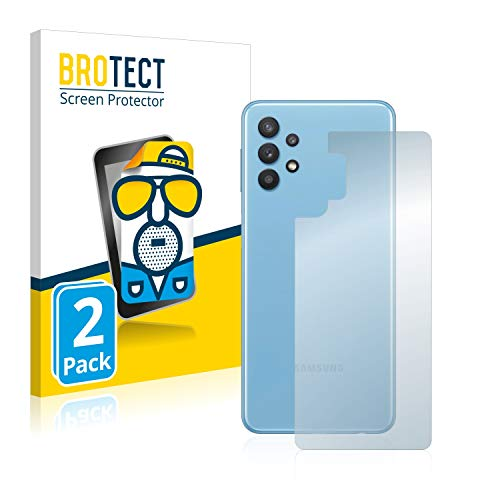 BROTECT 2X Entspiegelungs-Schutzfolie kompatibel mit Samsung Galaxy A32 5G (Rückseite) Bildschirmschutz-Folie Matt, Anti-Reflex, Anti-Fingerprint