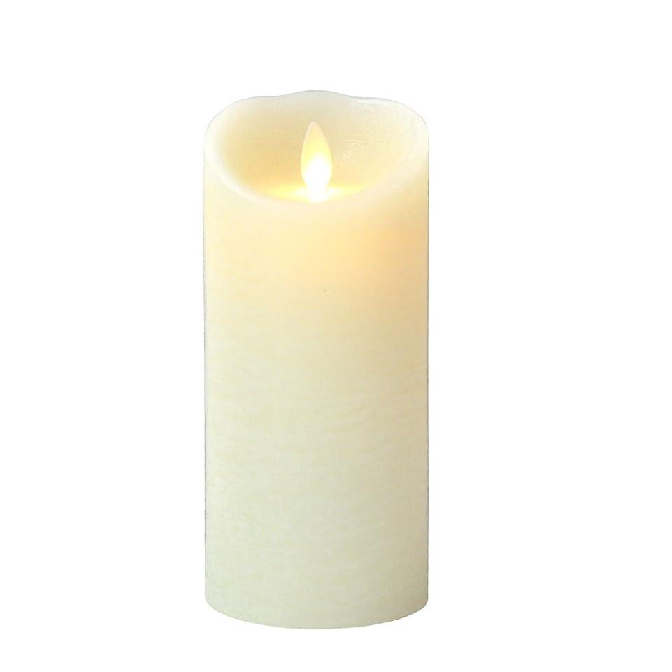 作り強大な前書き癒しの香りが素敵な間接照明! LUMINARA ルミナラ ピラー3×6 ラスティク B0320-00-20 IV?オーシャンブリーズ