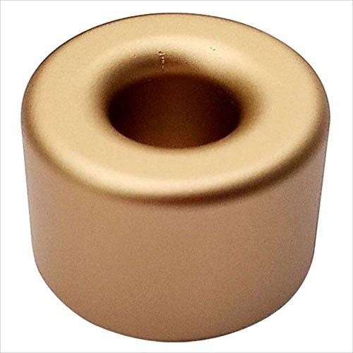 プルームテック スタンド (丸型ゴールド) おしゃれなアルミ製 Ploom Tech PloomTech電子タバコ VAPE ペン立て シンプル ケース