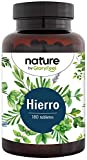 Bisglicinato de Hierro 40mg + 40mg Vitamina C natural de Acerola para una mejor absorción - 180 comprimidos veganos (Suministro para 6 meses) - Producción probada en laboratorio en Alemania