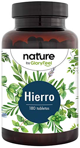 Bisglicinato de Hierro 40mg + 40mg Vitamina C natural de Ace