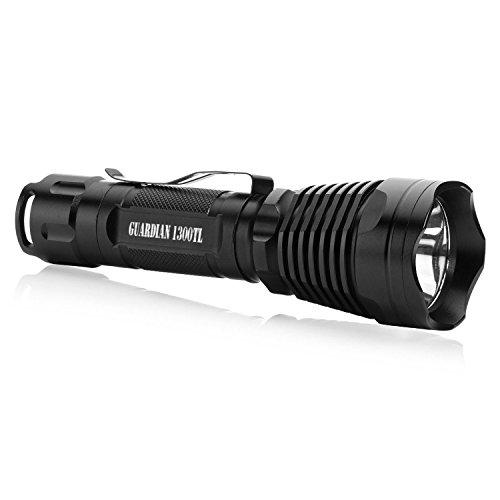 NiteCore TM06-3800LM Smallest and Lightest LED Flashlight//Searchlight Black Light Junction