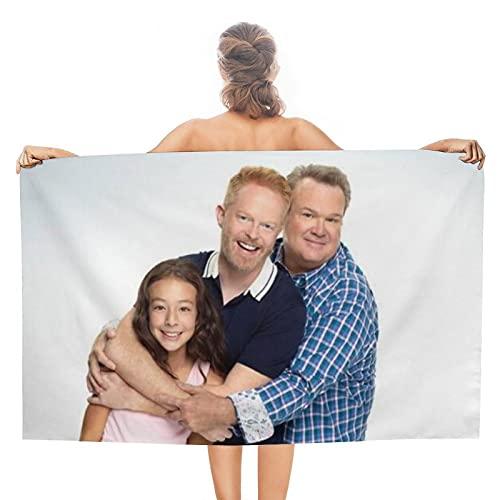Telo mare, telo da bagno, per nuoto, campeggio, fitness, yoga, coperta (130 x 80 cm)
