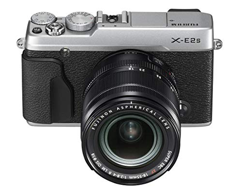 Fujifilm X-E2S Mirrorless Camera w/XF18-55 Lens Kit (Silver) (Renewed)