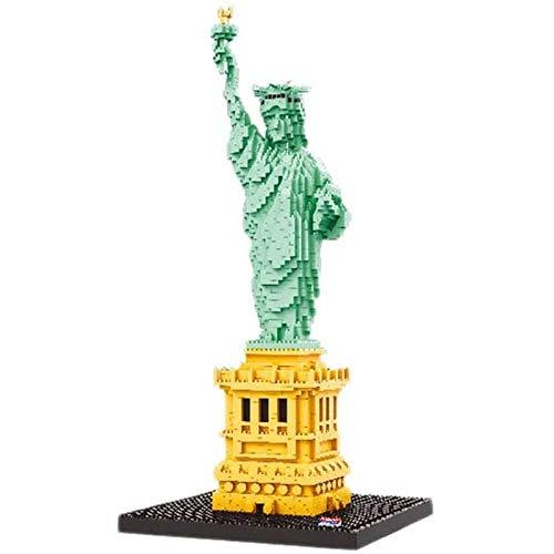 Ikpdbw Juego de Bloques de construcción Modelo de ídolo Femenino Freedom 2510 Piezas Nano Mini Bloque de construcción DIY Juguete, Rompecabezas 3D Juguete Educativo DIY