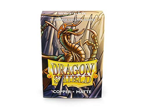 Arcana Tinmen Mangas: Dragon Shield Cobre japonês fosco (60)
