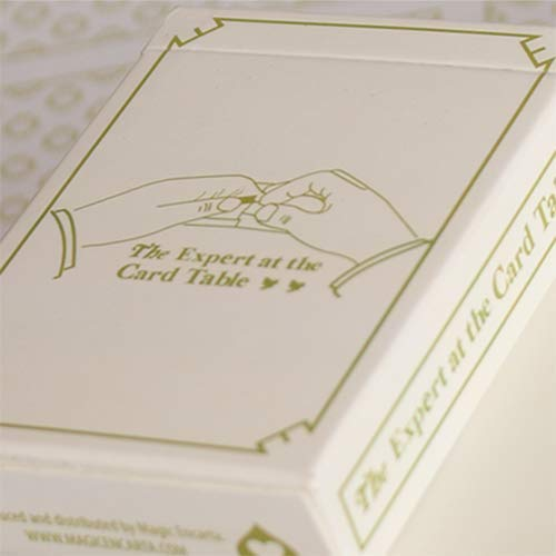 Mazzo di carte Expert At The Card Table (White) Playing Cards