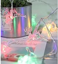 ノーブランド イルミネーション ロープライト クリスマス ライト LED ミックス色4.8m 20球 30球防雨型 屋外 LED チューブライト ロープライト ソーラーライト (ミックス)