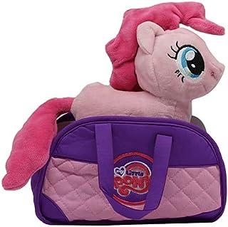 MLP My Little Pony Pinkie Pie - Peluche con Bolsa de Transporte para niños, niñas y niños