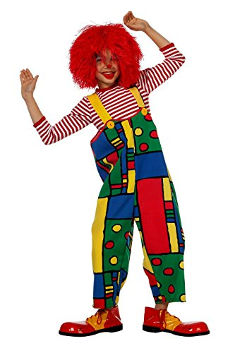 Jannes - Kinder Clowns-Latzhose bunt 164