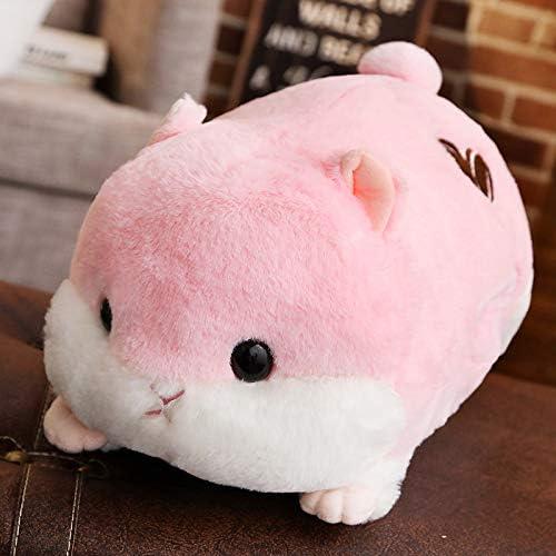 QZXCD Plüschtier niedlichen Hamster Kissen Puppe faul schlafen Puppe Bett niedlichen mädchen Geburtstagsgeschenk