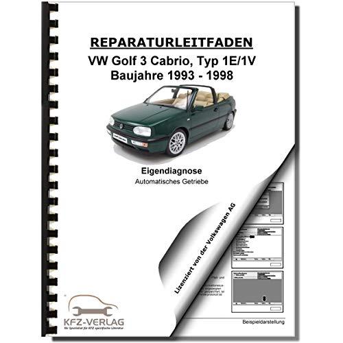 VW Golf 3 Cabrio 1E/1V Eigendiagnose Automatikgetriebe 01M Reparaturanleitung