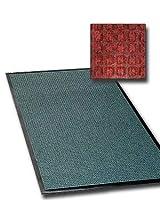 商用グレードエントリドアマット–FloorGuard–4' x 8'–住宅用/商用Walk Off玄関マット レッド