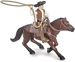 Little Buster Toys Horse Rider - Roping Horse and Rider, 1/16th Scale