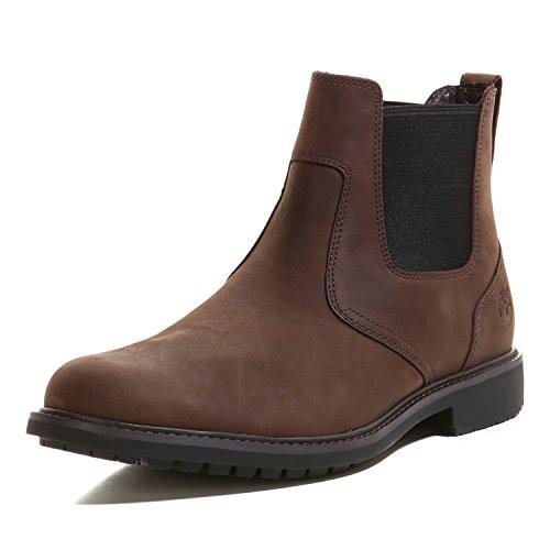 Timberland Stormbuck Chelsea Boots 5552R Dark Brown Size 6.5