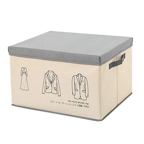 xiamenchangketongmaoyi Caja Juguetes Caja de Almacenamiento Pequeñas Cajas de Almacenamiento Cajas de Almacenamiento de Juguetes para niños De la Caja de Almacenamiento Gray,s