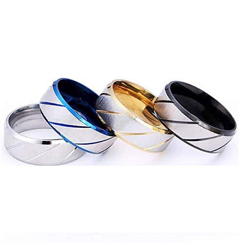 LONG-X Magnetische Anti Cellulite Ring Verlieren Gewicht Abnehmen Produkte Fitness Reduzieren Gewicht Ring Magnetische Gesundheit Schmuck,Gold,18mm