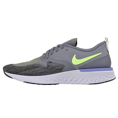 Nike Mens Odyssey React 2 Flyknit Fitness Running Shoes Blue 11 Medium (D)