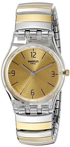Swatch Orologio da Donna Digitale al Quarzo con Cinturino in Acciaio Inox – LK351B