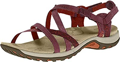 Merrell Women's, Jacardia Sporty Sandals Taupe 10 M