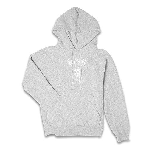Lucyhu Damen Kapuzenpullover Ghostemane Pullover Hoodie Langarm Gray XXL Sweatshirt Kapuze Für Frauen Bekleidung