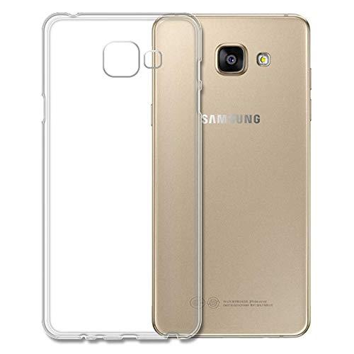 Roar Handy Hülle Transparent aus Silikon für Samsung Galaxy A5 2016 Handyhülle Ultra Slim, Dünn, Durchsichtig, Silikon Schutzhülle für Samsung Galaxy A5 2016