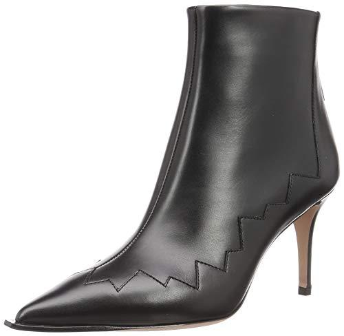[ペリーコ] ファッションブーツ WIDE EDGE BACK ZIP SHORT BOOTS レディース ブラック 23.5 cm