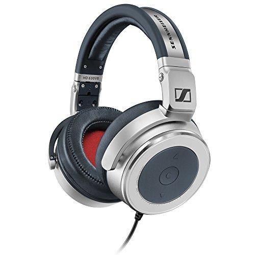 Sennheiser HD630VB - Auriculares de Diadema Cerrados, Color Plateado
