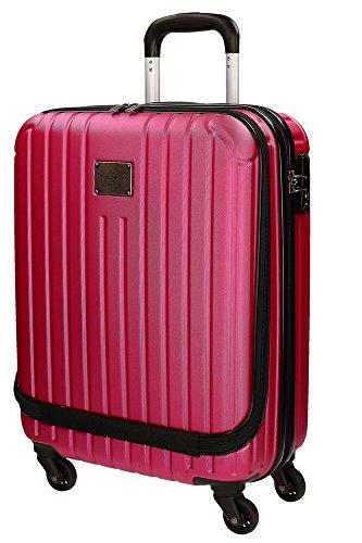 Pepe Jeans Color Stripes Equipaje de Mano, 44 Litros, Color Rosa